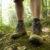 Vandrestøvler sti skov træ natur