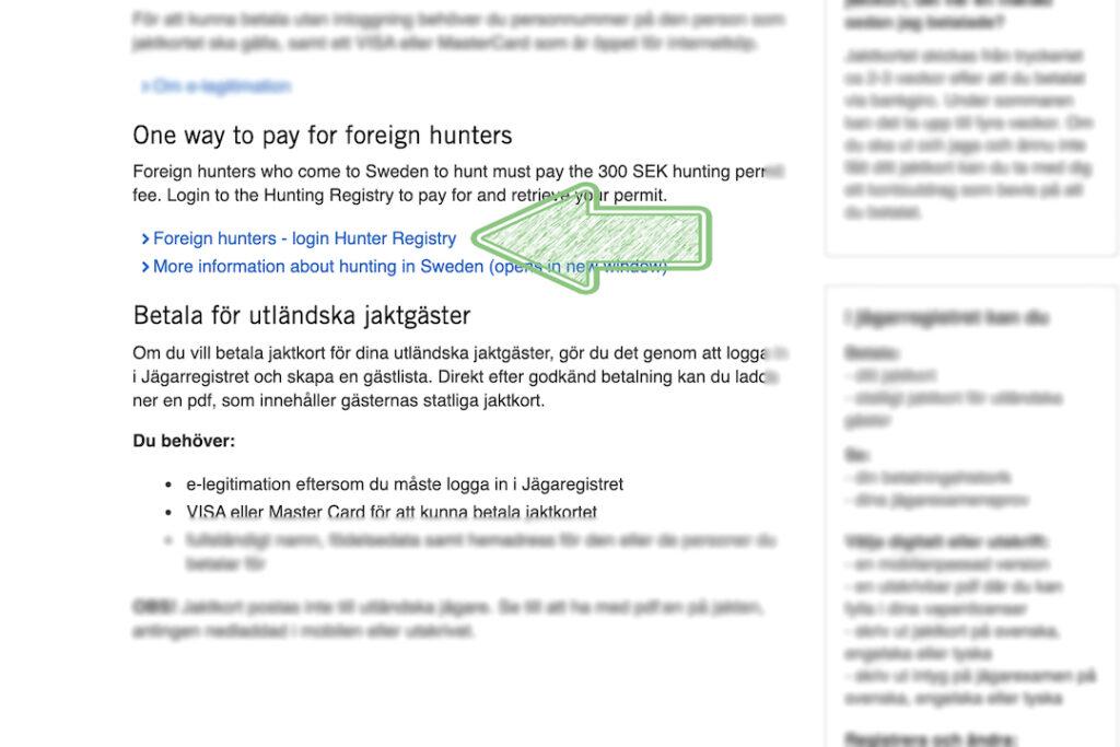 Svensk jagttegn