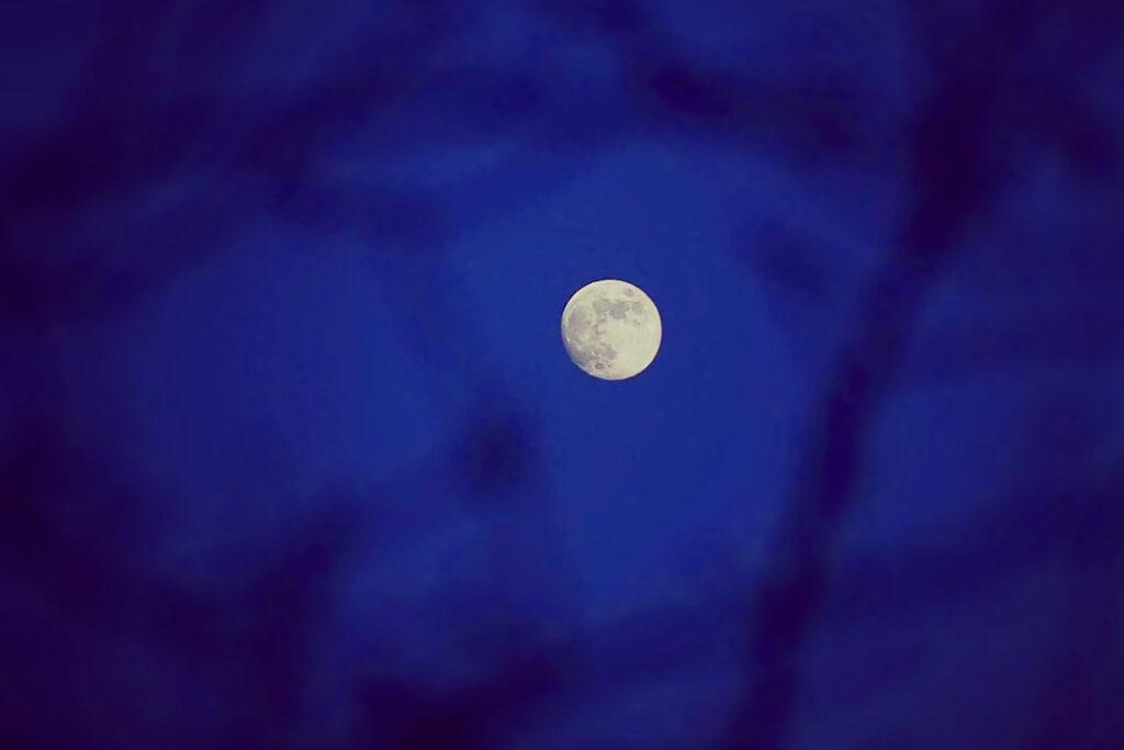 Fuld måne månefaser månekalender
