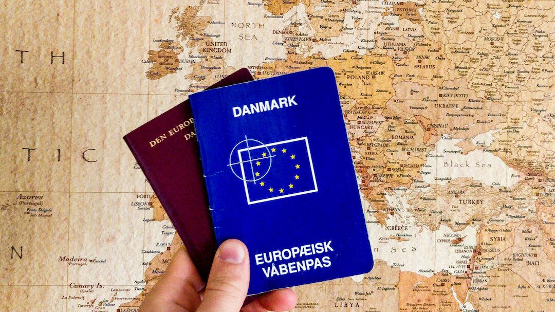 våbenpas pas europa europakort